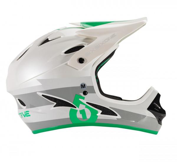 Comp Fullface Helm - grey/green
