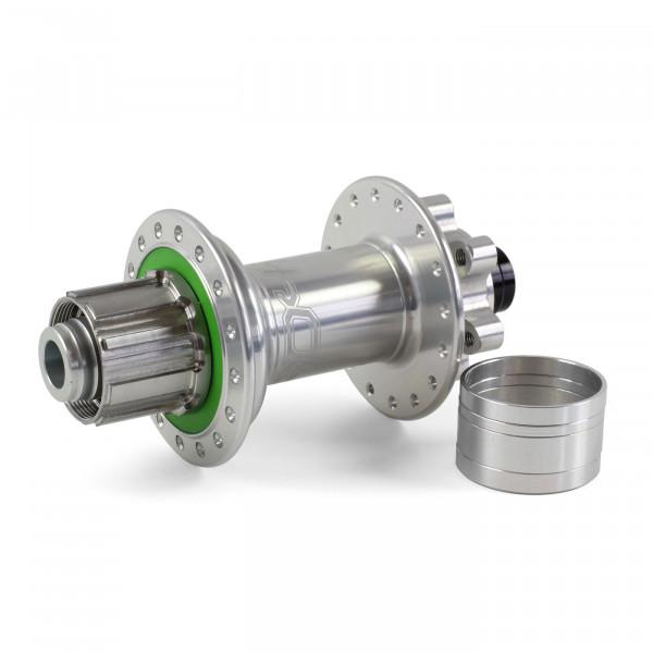 Pro 4 Trial/Singlespeed Hinterradnabe silber 32 Loch - 12x135/12x142mm
