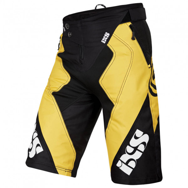 Vertic 6.1 DH Shorts - yellow/black