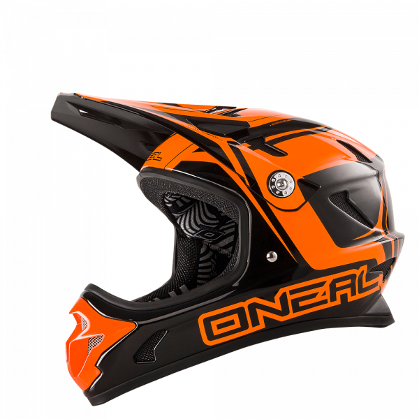 Spark Fidlock DH Helm Black/Orange