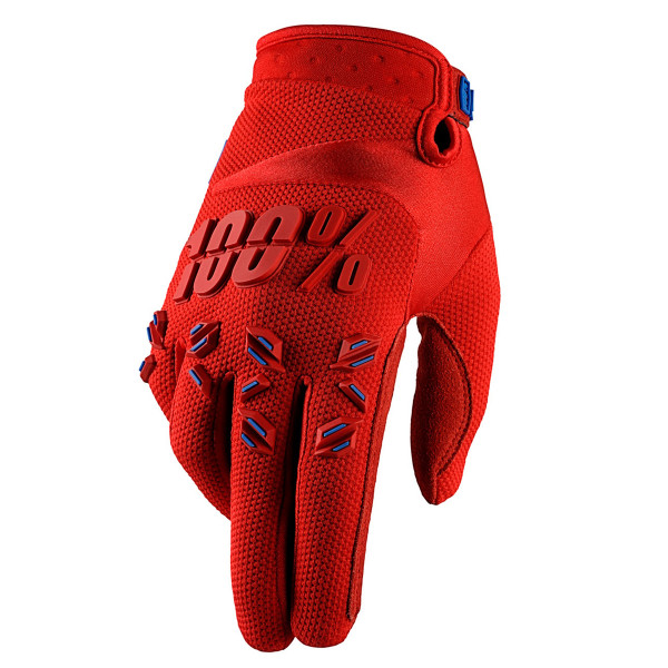 Airmatic Handschuh - Fire Red