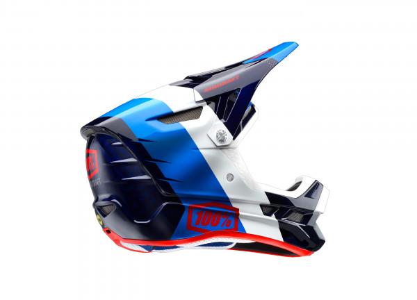 Aircraft Mips Fullface Helm - R8 Blue Carbon