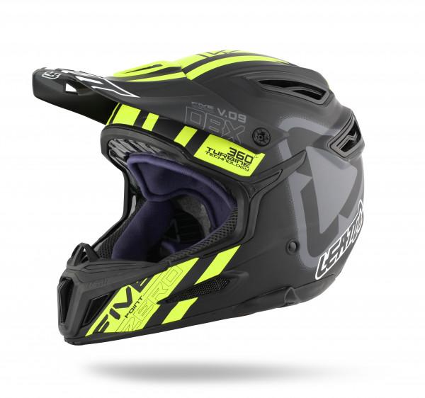 DBX 5.0 Composite Fullface Helm Black/Yellow