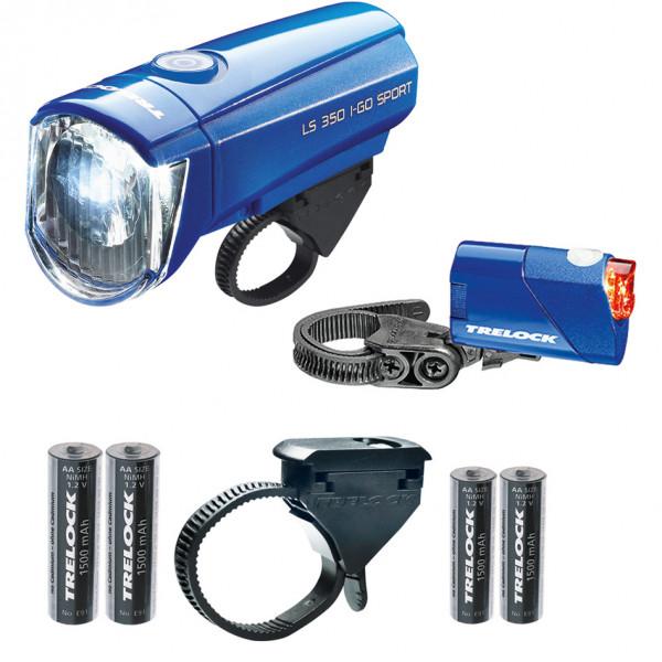 LS350 I-go Sport + LS710 Scheinwerfer Kombi-Set - blau