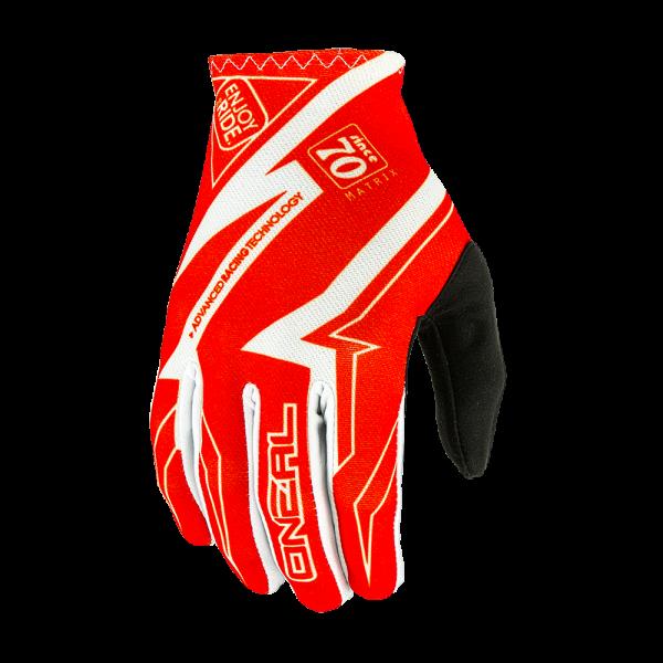 Matrix Glove Racewear Handschuh White/Red