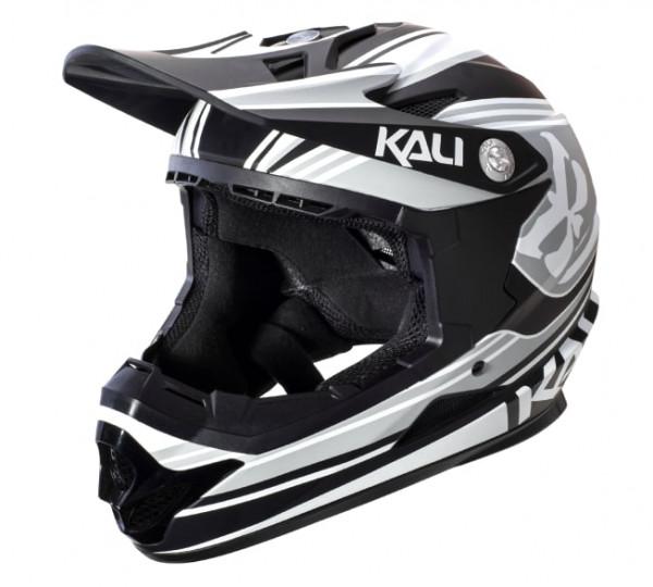 Naka DH Helm Slash ABS Shell - grey/black - Youth