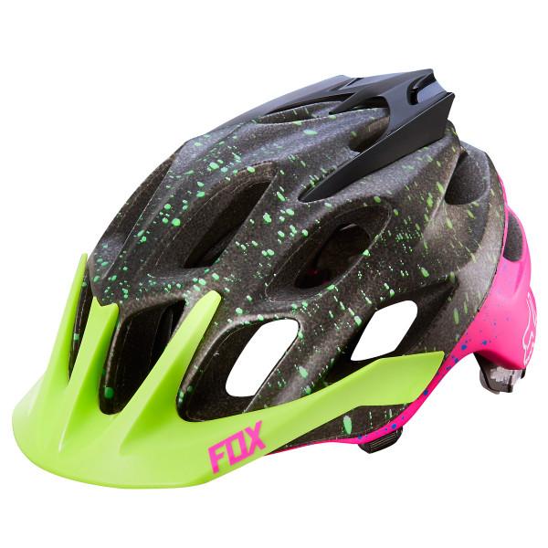 Flux XC Trail Helm - Flight Black/Pink