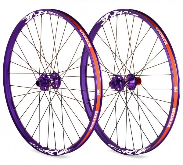 Vice DH Laufradsatz 26 Zoll 20/150mm - purple