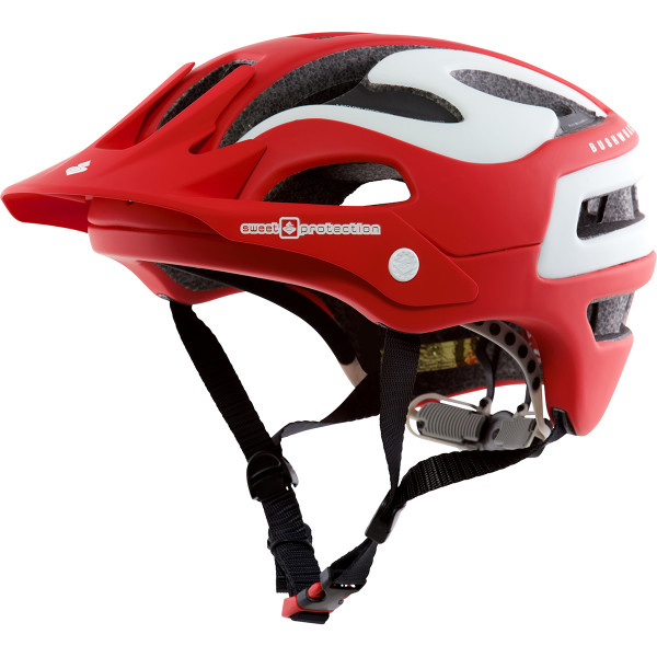 Bushwhacker Helm 2016 - Matt Scorch Red