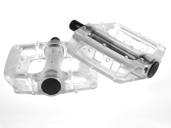 T-Rex Plattform Kunststoff Pedale - klar