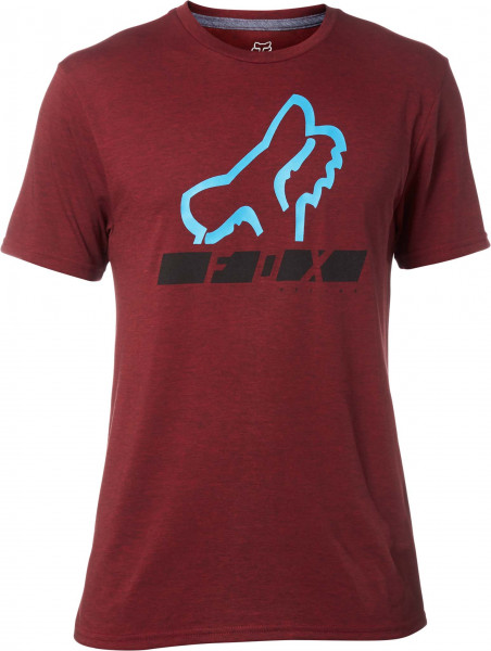Traingulate Tech T-Shirt - Heather Red