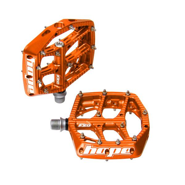 F20 Pedale orange