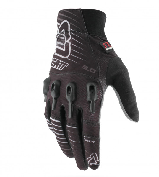 DBX 3.0 X-Flow Handschuhe - black/white