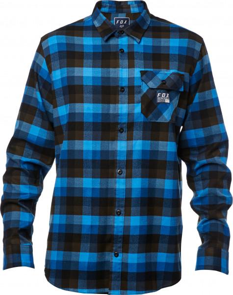 Rovar Flannelhemd - Blau