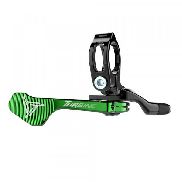 Hop-Up Remote Hebel für Race Face Turbine Vario Sattelstütze - green