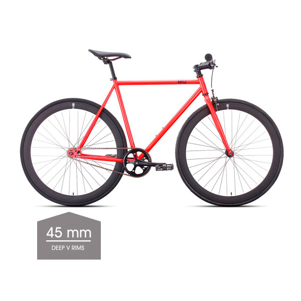 Cayenne Singlespeed/Fixed Bike - 45 mm Deep V Felgen