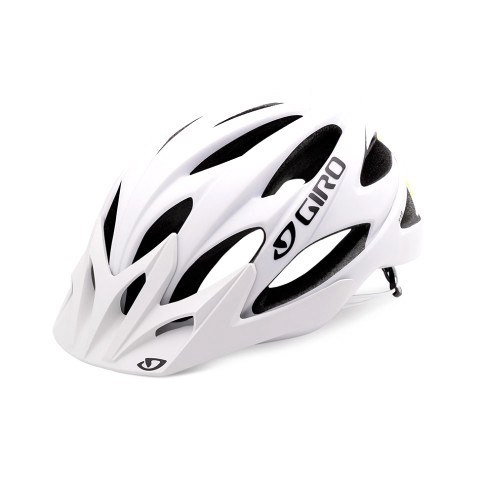 Xar Helm - matte white/lime