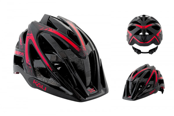 Avana Enduro/XC Helm - black/red