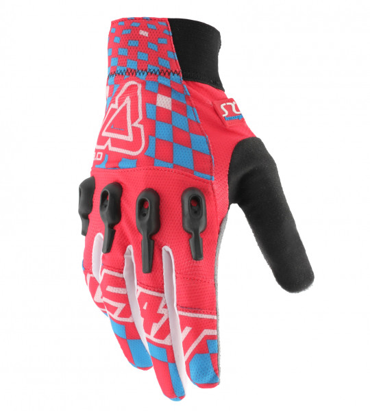 DBX 3.0 X-Flow Handschuhe - red/blue