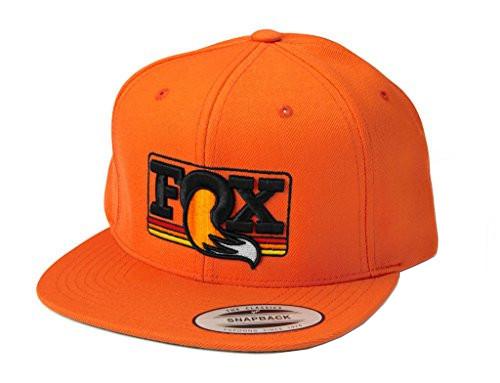 Heritage Snapback Hat - orange