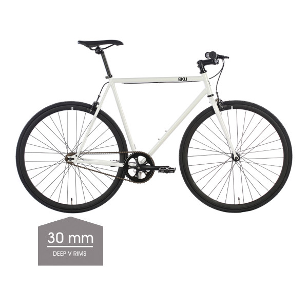 Evian 2 Singlespeed/Fixed Bike - 30 mm Deep V Felgen