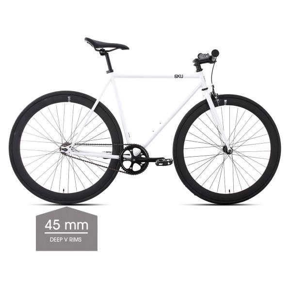 Evian 2 Singlespeed/Fixed Bike - 45 mm Deep V Felgen