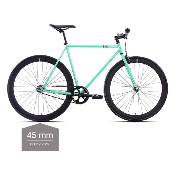 Milan 2 Singlespeed/Fixed Bike - 45 mm Deep V Felgen