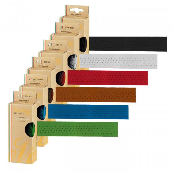 Lenkerband aus Echtleder - farblich passend zum Concor Sattel