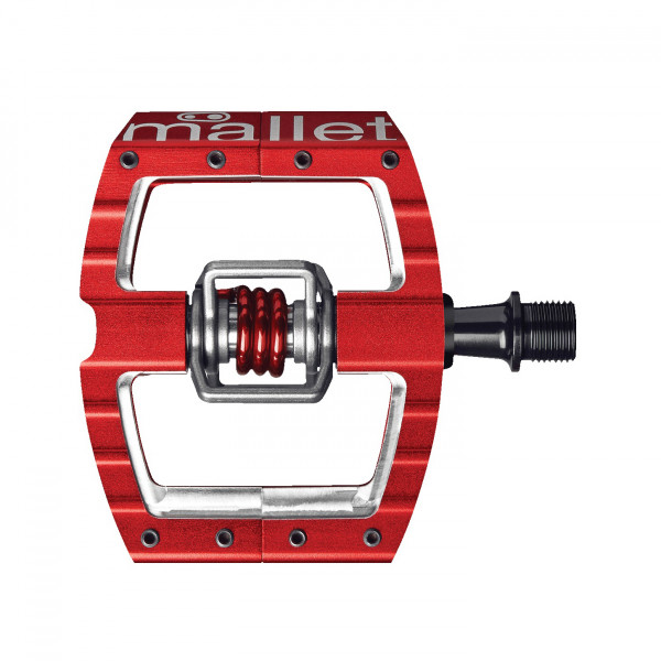 Mallet DH/Race Premium Klickpedal - rot