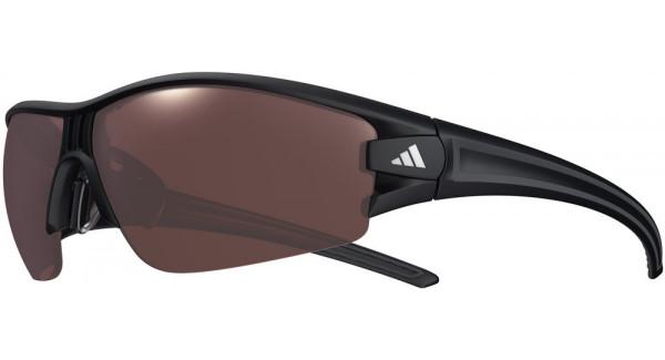 Evil Eye Halfrim Sonnenbrille Matte Black Polarized - S